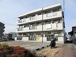 愛知県あま市甚目寺山之浦の賃貸マンションの外観