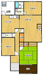 [一戸建] 愛媛県新居浜市本郷2丁目 の賃貸【/】の間取り
