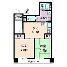 ネオサクセス21[3階]の間取り