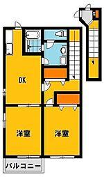 フレーズ4[2階]の間取り