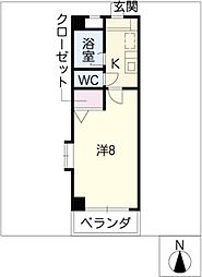 G&P OWAKI[3階]の間取り