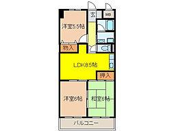 NAGARE35(ナガレ35)[2階]の間取り