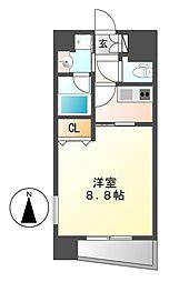 ル シャンパーニュ[3階]の間取り