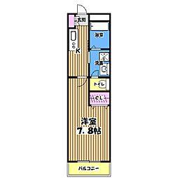 エルメゾンYOU[3階]の間取り