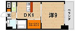 Bay Side Asano(ベイサイドアサノ)[4階]の間取り
