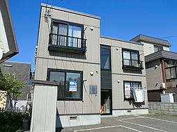 北海道札幌市豊平区福住三条3丁目の賃貸アパートの外観