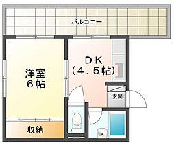 久保田ビル[5階]の間取り