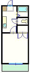 セントラルハイムC[301号室]の間取り