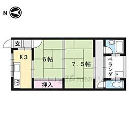 国際会館駅 3.8万円
