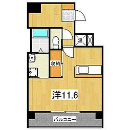 IL ROSSO堀川六角[3階]の間取り