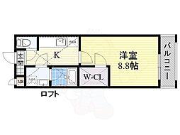 北花田駅 6.2万円