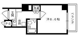ホーユウコンフォルト二条城前[902号室号室]の間取り