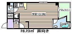 デュオグラン梅田東[4階]の間取り