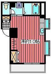 エタ−ナルⅡ[3階]の間取り