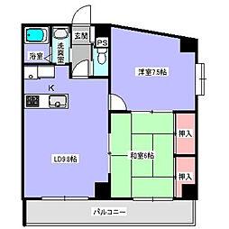 SD-I[3階]の間取り