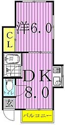 パブリックハウス平井[2階]の間取り