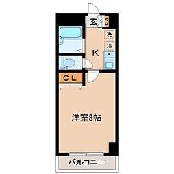 グランドシャリオ[3階]の間取り