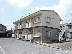 千葉県野田市七光台の賃貸アパートの外観