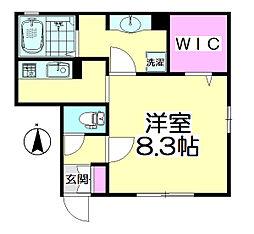 桜(SAKURA)[202号室]の間取り