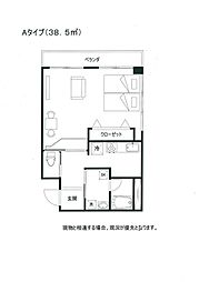 メゾンH&D IV[2階]の間取り