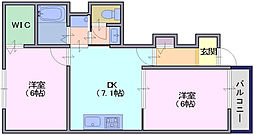 フレイズ1[1階]の間取り