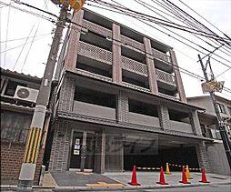 京都府京都市上京区一条通大宮西入鏡石町の賃貸マンションの外観