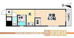 愛知県名古屋市瑞穂区前田町1丁目の賃貸マンションの間取り