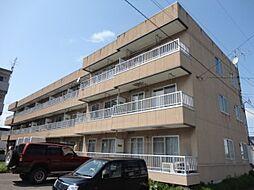 北海道札幌市清田区真栄一条2丁目の賃貸マンションの外観