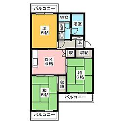 武藤ビル[1階]の間取り