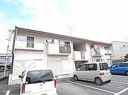 兵庫県姫路市新在家4丁目の賃貸アパートの外観