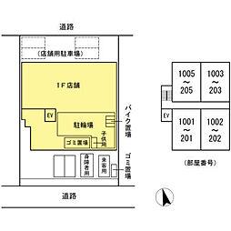 Shimon's Nishidai[403号室]の外観