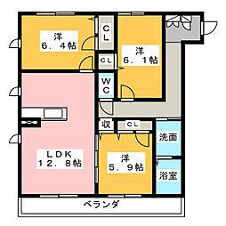 仮)ハートホーム名東区亀の井[1階]の間取り