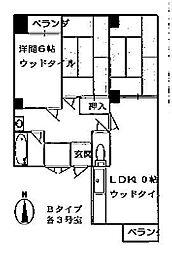 ステーションパレス京都[403号室号室]の間取り
