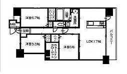 田所ヒルズ[2階]の間取り