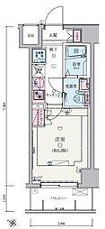 リヴシティ武蔵浦和[4階]の間取り