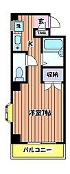 KIビル[6階]の間取り