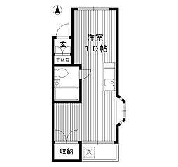 東京都豊島区長崎4丁目の賃貸マンションの間取り