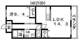 アイビス[2階]の間取り