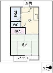 メゾンR&A[1階]の間取り