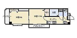 中津口センタービル[10階]の間取り