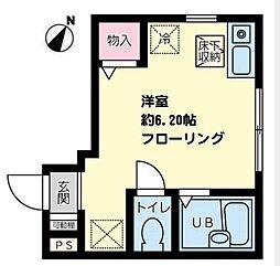 K-flat湘南[101号室]の間取り