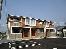 香川県高松市飯田町の賃貸アパートの外観