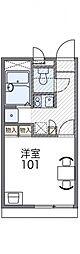 レオパレスイン京都[206号室号室]の間取り