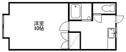 新潟県新潟市中央区山二ツ5丁目の賃貸アパートの間取り