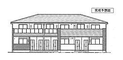 メイプレーヌE[1階]の外観