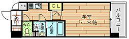 プールトゥジュール梅田ウエスト[11階]の間取り