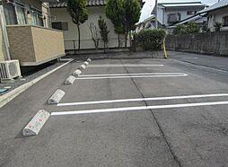 広島県福山市北美台の賃貸アパートの外観