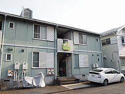 茨城県守谷市けやき台3丁目の賃貸アパートの外観