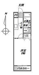 タイム12[2階]の間取り