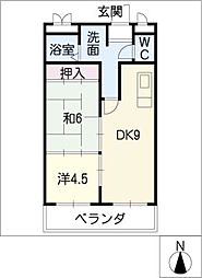 THE TOKUGETU 20[1階]の間取り